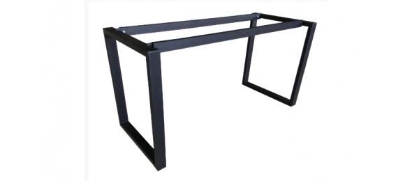 Металлический каркас для стола СМ 31 с парящей столешницей 1400х700 мм