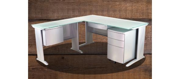 Опора CM для офисного стола с перфорацией