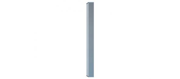 Квадратная нога для стола 50х50 мм хром