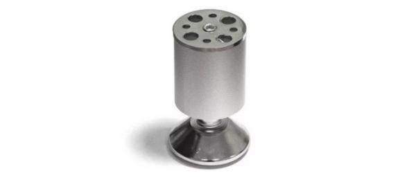 Ножка мебельная регулируемая 50х100 мм алюминий