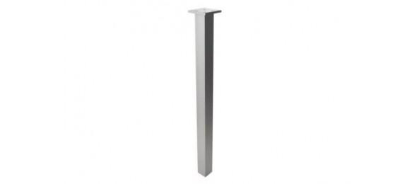 Опора для стола квадратная 60х60х710 мм серая
