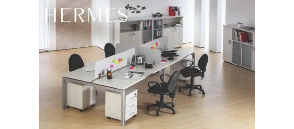 Металлокаркас Hermes для офисного стола с раздвижной траверсой