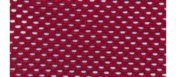 Ткань-сетка бордовая
