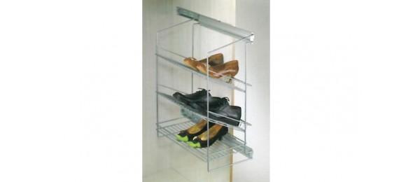 Выдвижная корзина для обуви с боковым креплением